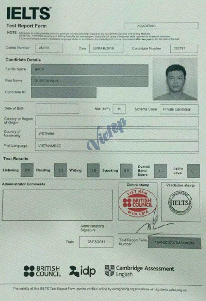 Review khóa học IELTS Cấp tốc tại Phú Nhuận