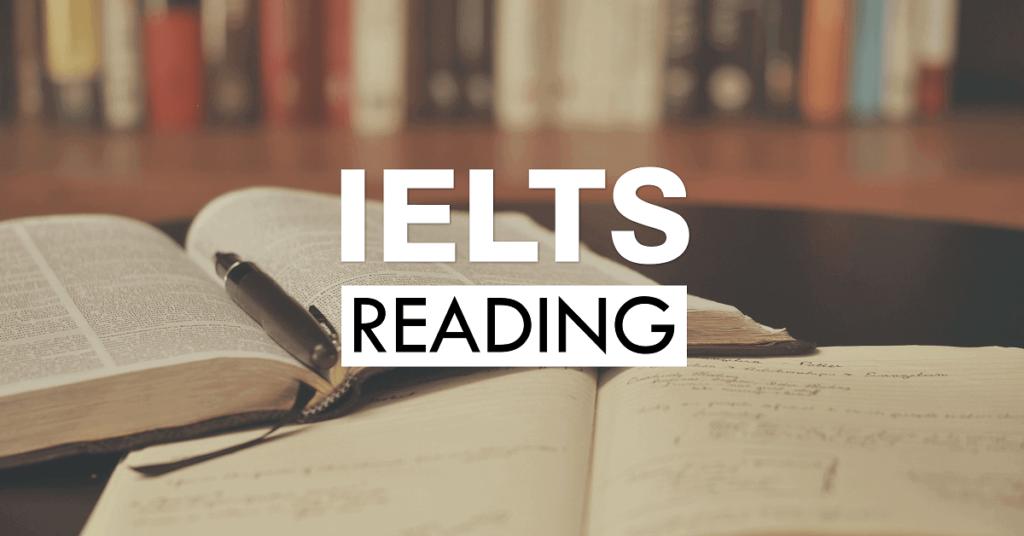 Một số kinh nghiệm trong phần thi Reading