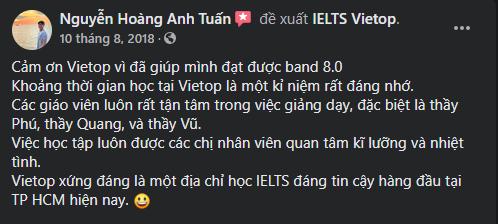 Review của bạn Nguyễn Hoàng Anh Tuấn