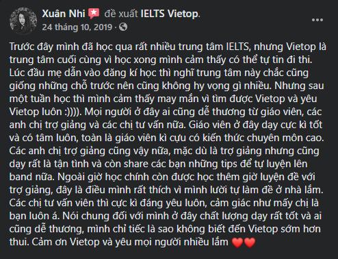 Review của bạn Xuân Nhi
