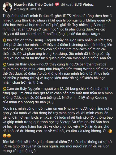 Review của chị Nguyễn Đắc Thảo Quỳnh - Huấn luyện viên YOGA