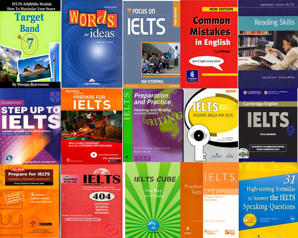 Các giáo trình - sách luyện thi IELTS nên biết