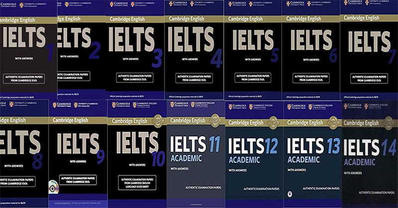 Bộ sách Cambridge English IELTS