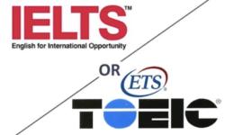 Nên học IELTS hay TOEIC để xin việc? Cái nào khó nhất ?