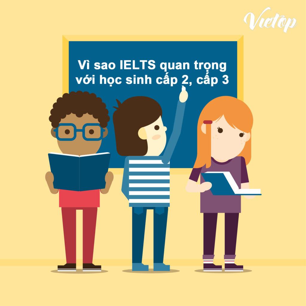 Những lý do nên học IELTS từ năm cấp 2, cấp 3