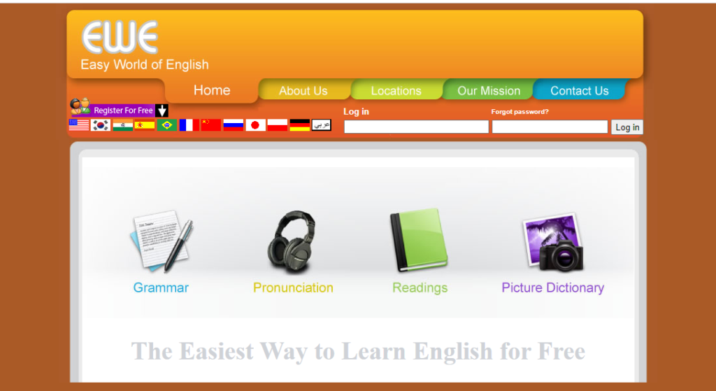 Học từ vựng tiếng Anh miễn phí và dễ dàng nhất với Easy World of English