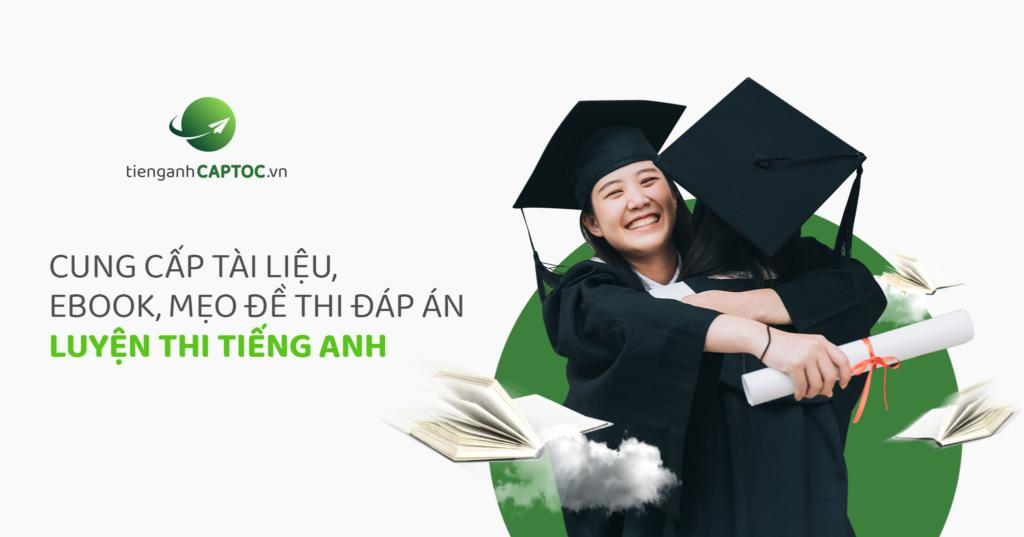 Học từ vựng tiếng Anh với tienganhcaptoc.vn