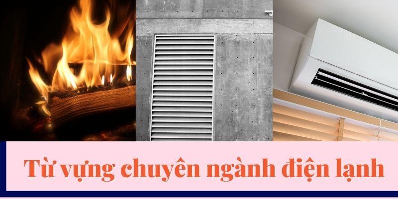 Từ vựng chuyên ngành điện lạnh