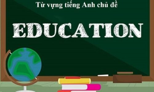 Từ vựng chủ đề Education IELTS Speaking