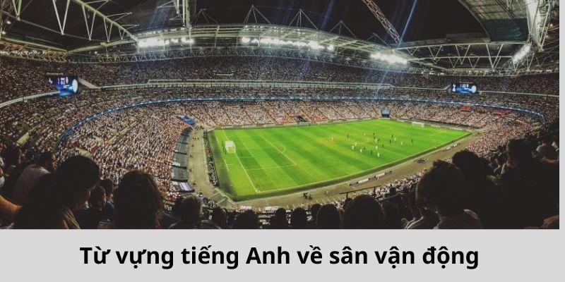 Từ vựng tiếng Anh về sân vận động