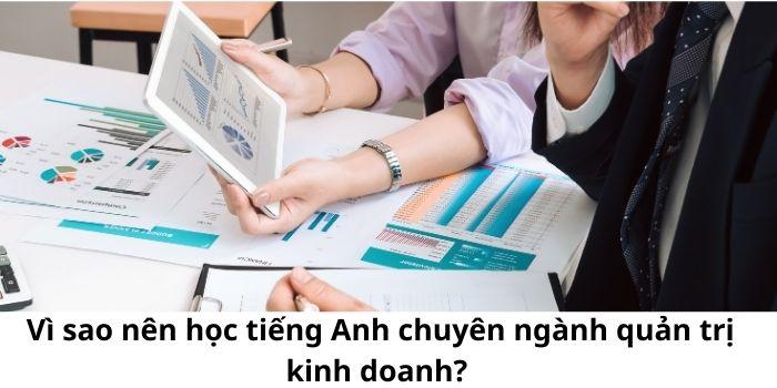 Vì sao nên học tiếng Anh chuyên ngành quản trị kinh doanh