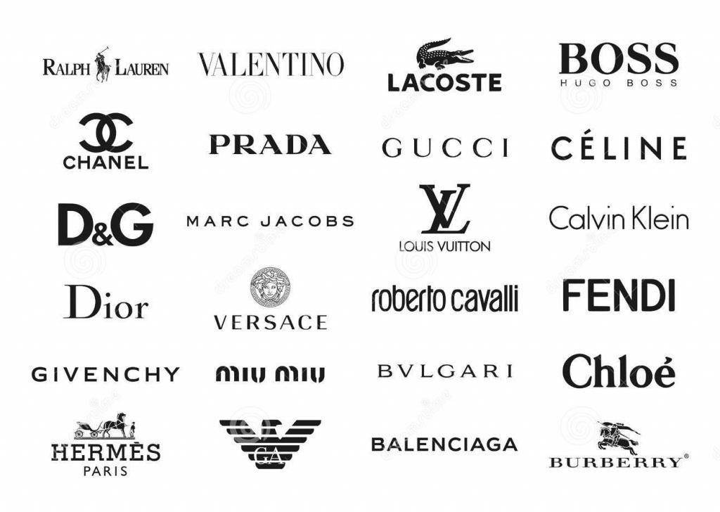 Cách đọc tên những thương hiệu thời trang nổi tiếng
