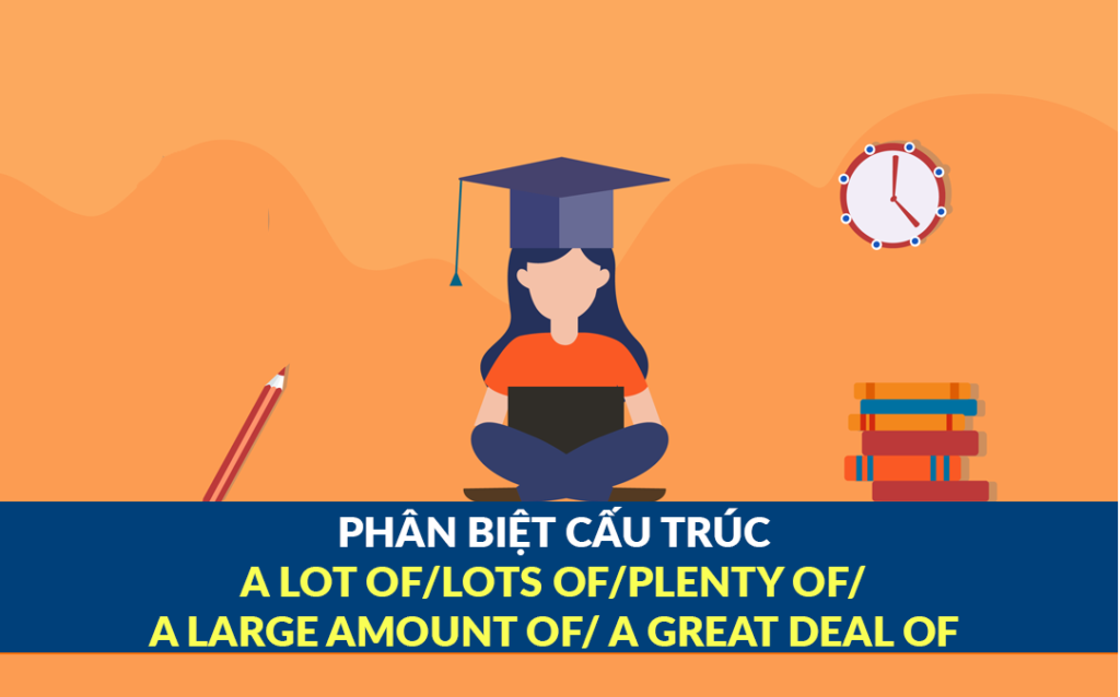 Cấu trúc A lot of, Lots of, Plenty of, A large amount of, A great deal of