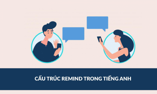 Cấu Trúc, Cách Dùng Remind Trong Tiếng Anh - Có bài tập hướng dẫn