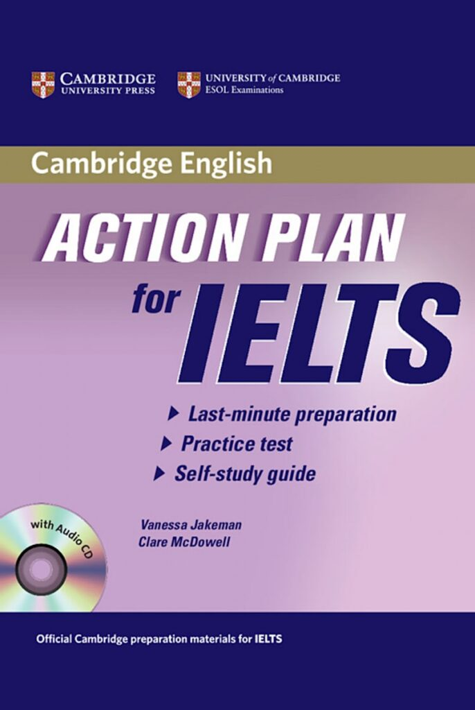 Cuốn sách Action Plan for IELTS