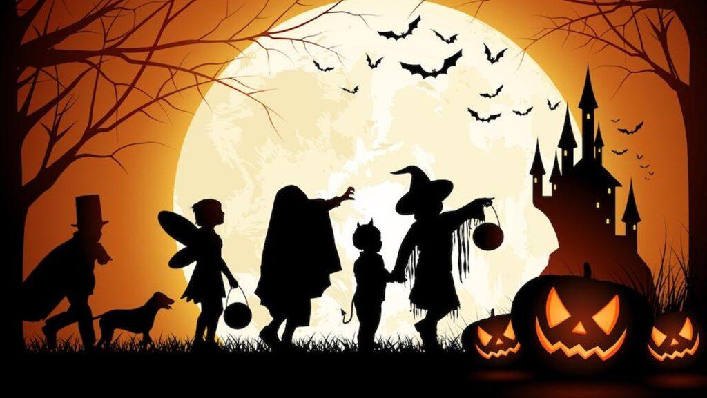 Đoạn văn mẫu chủ đề Halloween