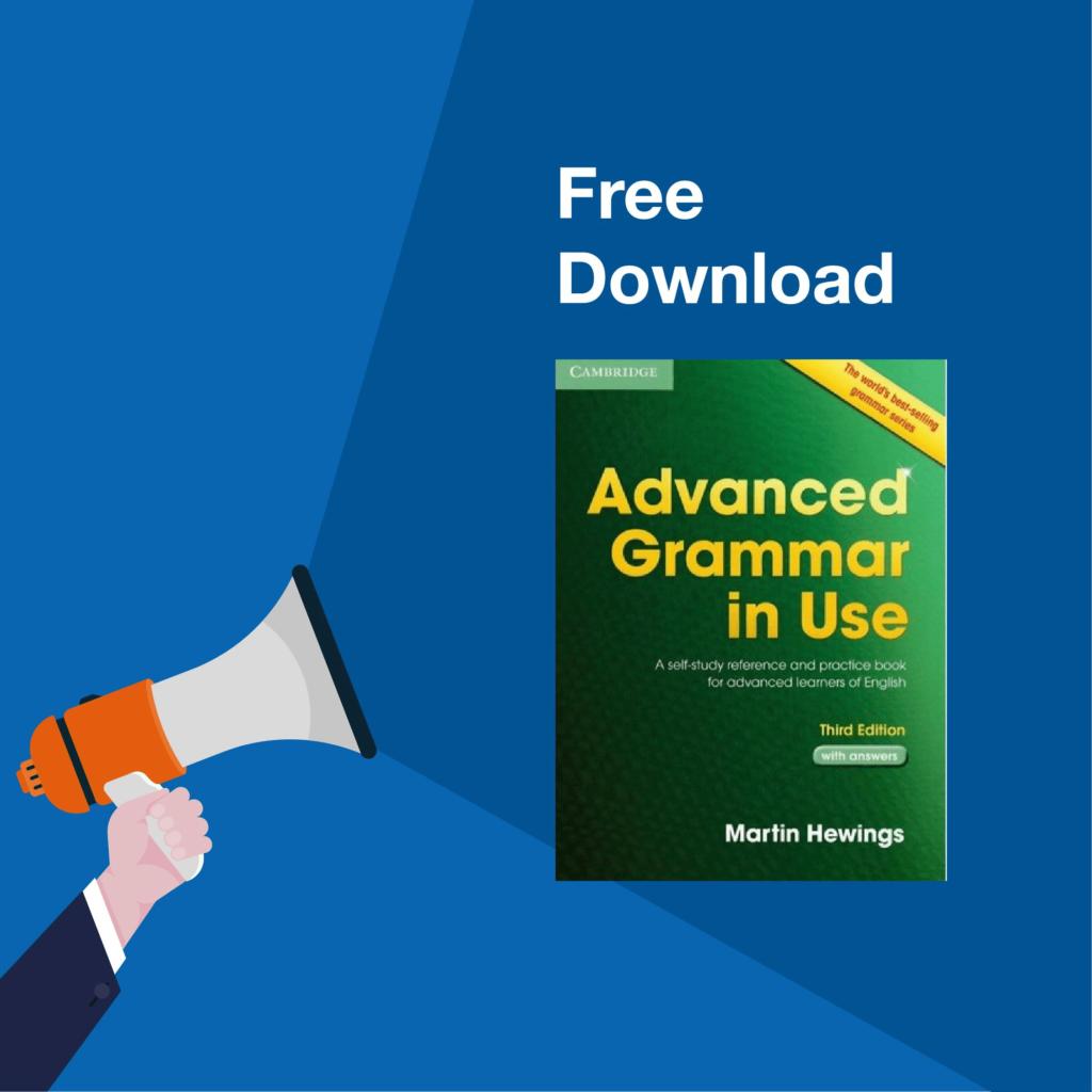 Cuốn sách English grammar in use Advanced
