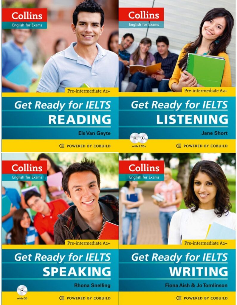Bộ Ready For IELTS By Collins