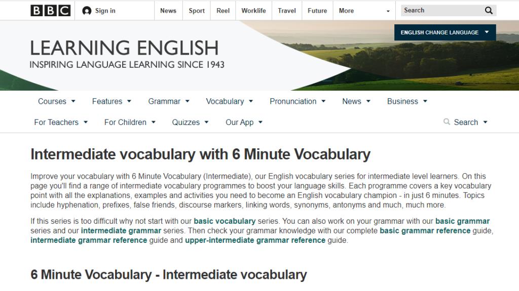 Học tiếng Anh với BBC