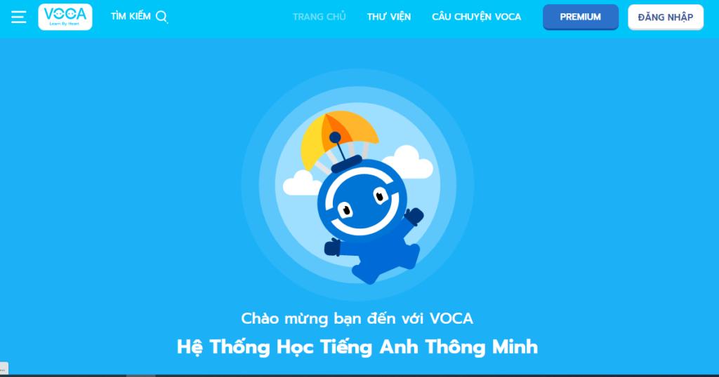 Học từ vựng tiếng Anh với Voca.vn
