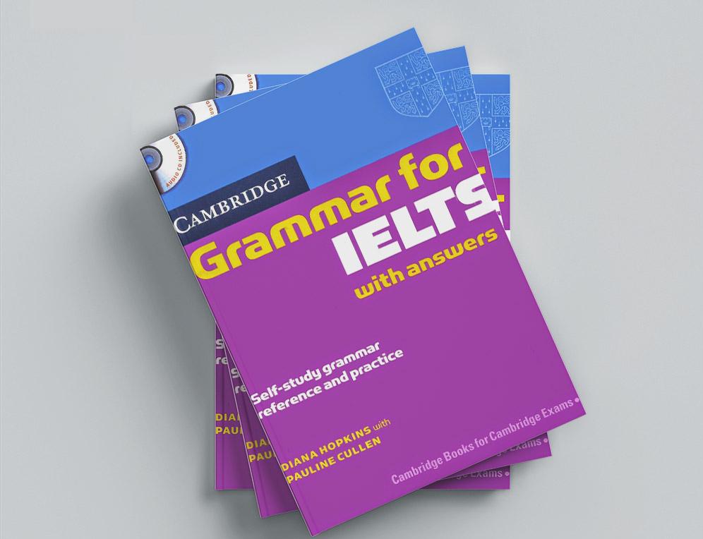 Cuốn sách Cambridge Grammar for IELTS