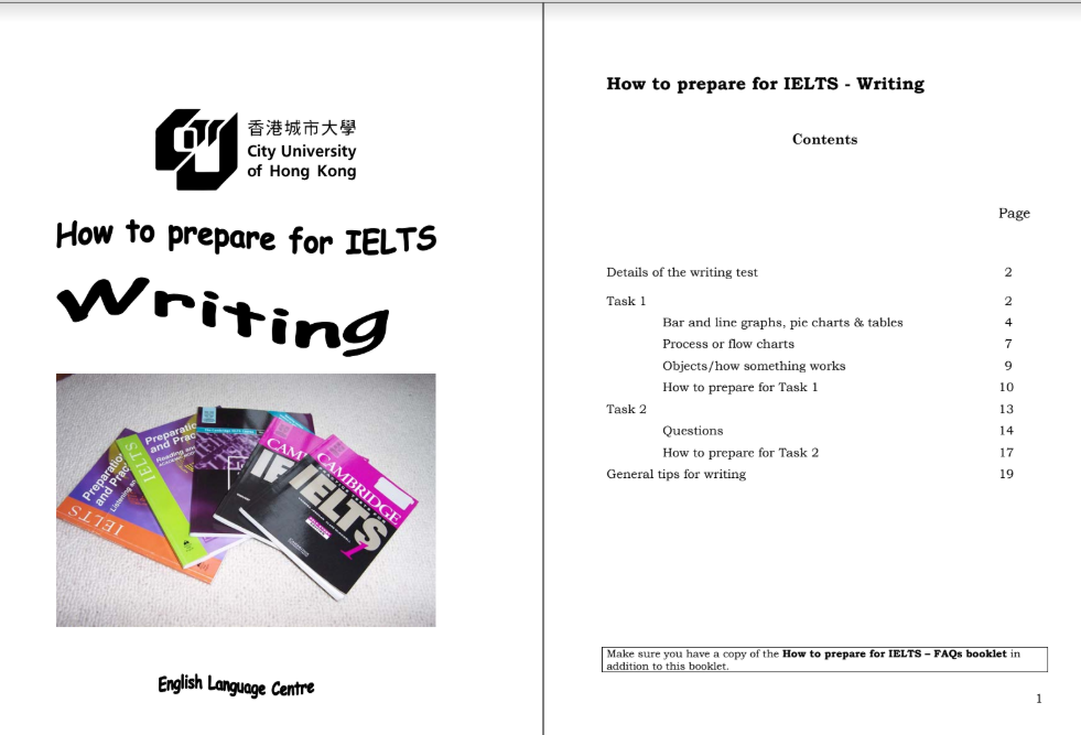 Sách How to prepare for IELTS Writing