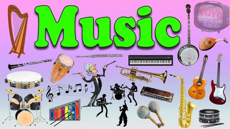 Từ vựng chuyên ngành âm nhạc