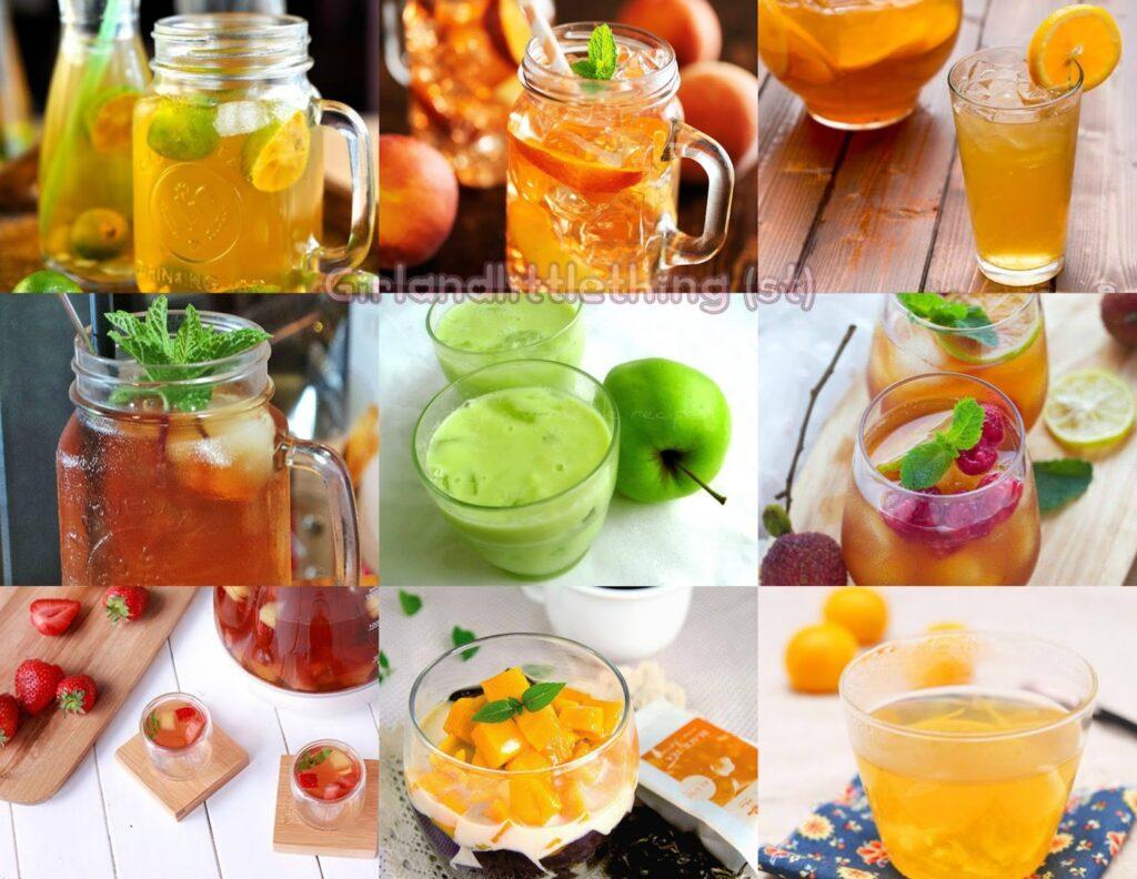Từ vựng tiếng Anh đồ uống làm từ trà