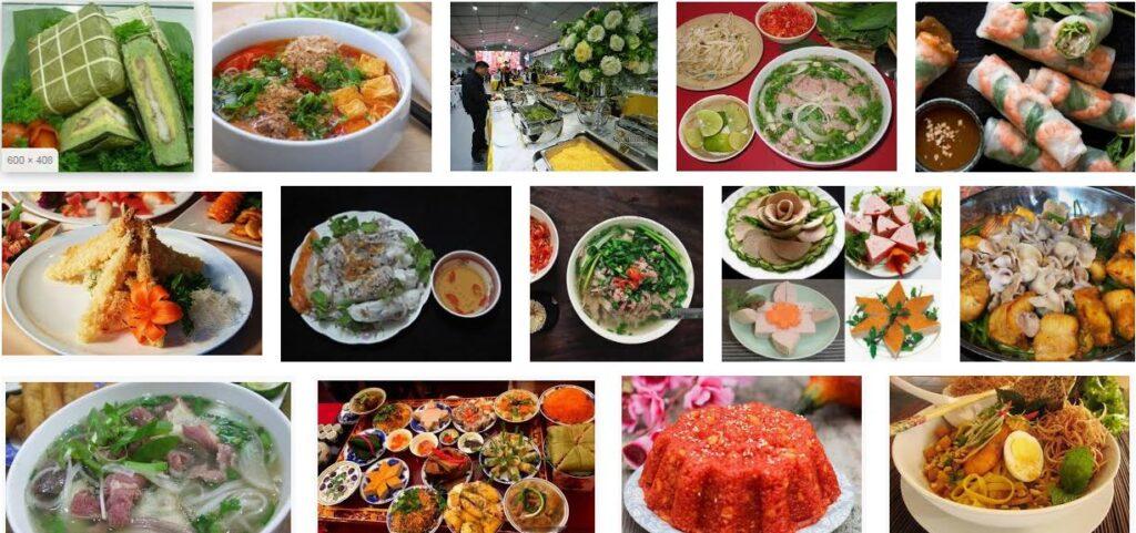 Từ vựng tiếng Anh về các món ăn truyền thống của Việt Nam