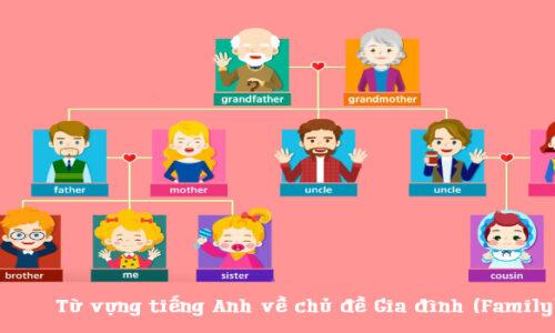 Tổng hợp từ vựng tiếng Anh về gia đình đầy đủ nhất 2021