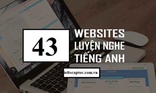 Tổng hợp 33 Website Luyện nghe IELTS cho người mới bắt đầu