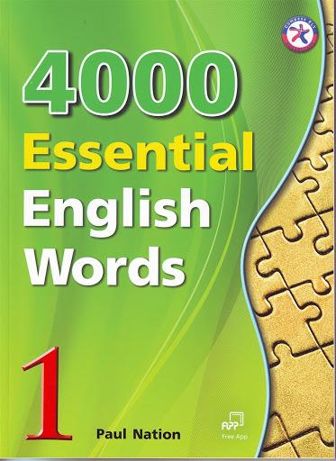Bìa sách 4000 Essential English Words 1