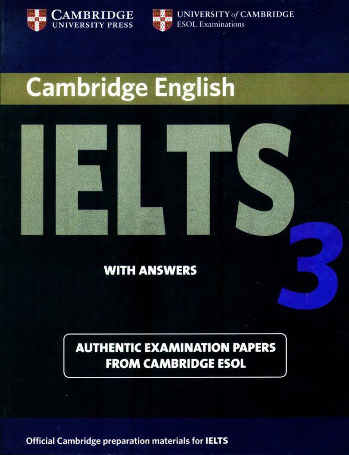 Bìa sách Cambridge IELTS 3
