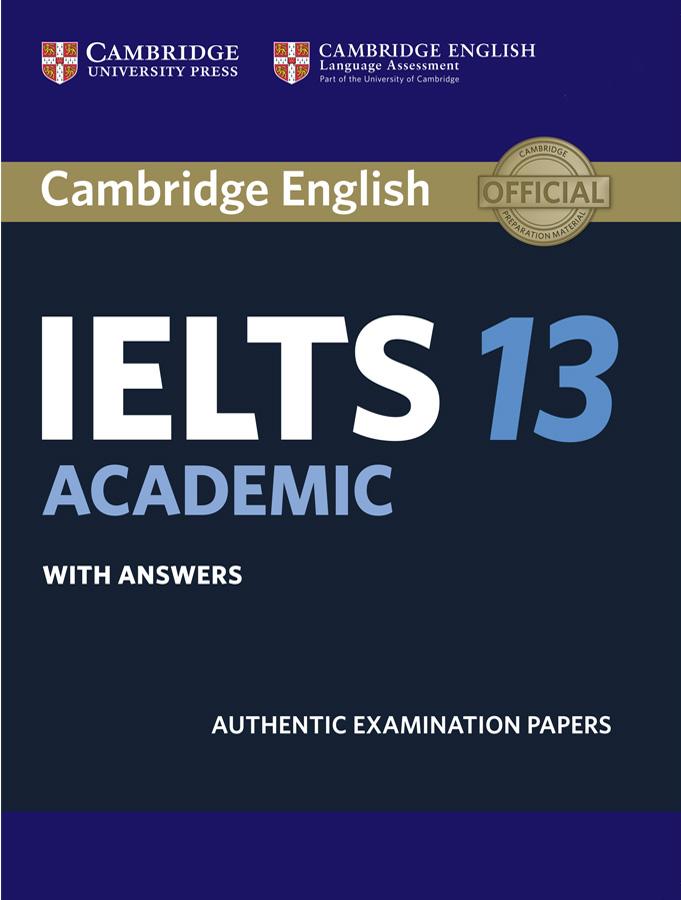 Bìa sách Cambridge IELTS 13
