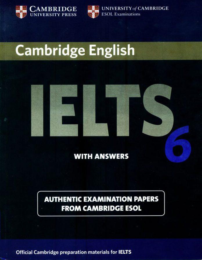Bìa sách Cambridge IELTS 6