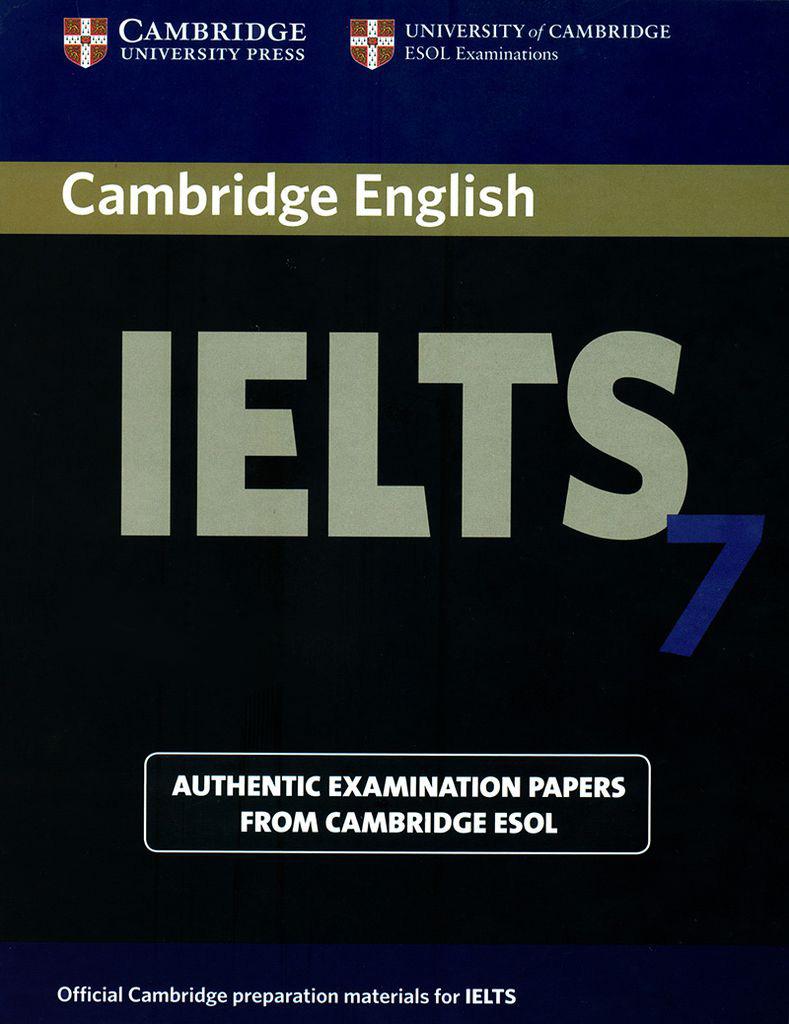 Bìa sách Cambridge IELTS 7