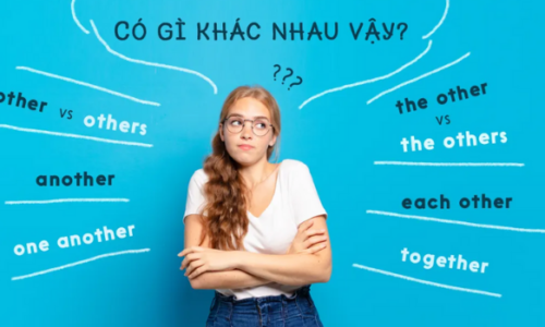 Cách dùng Each Other - Phân biệt Other,  Another, the Other, Each Other
