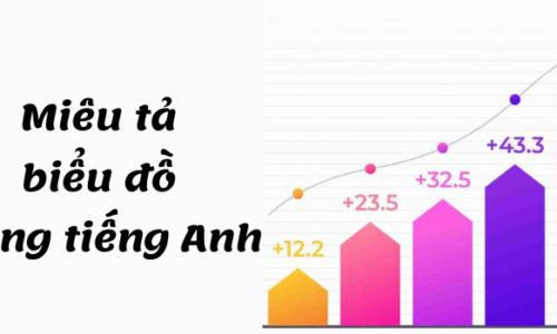 Cách miêu tả biểu đồ bằng tiếng Anh chuẩn nhất - IELTS Speaking & Writing