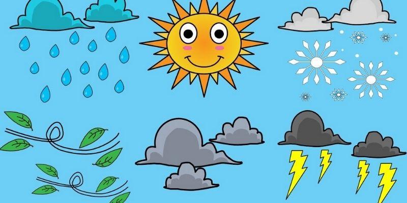 Cách trình bày bài talk about the weather in Vietnam