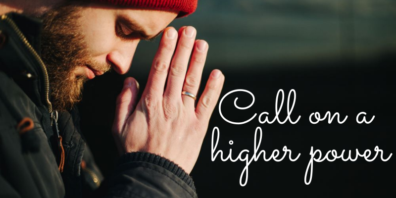 Call on a higher power