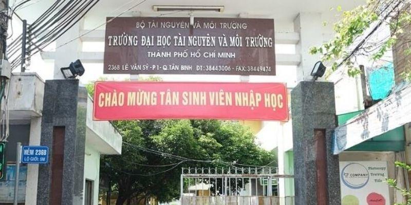Đại học Tài nguyên và Môi trường TP.HCM