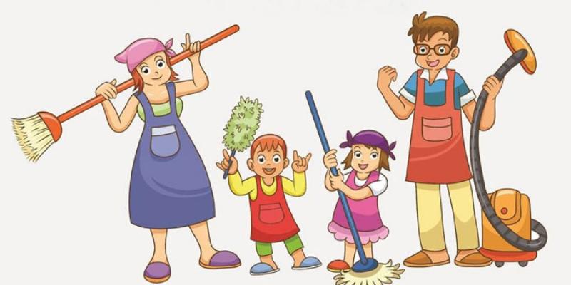 Đoạn văn mẫu viết về lợi ích của công việc nhà bằng tiếng Anh