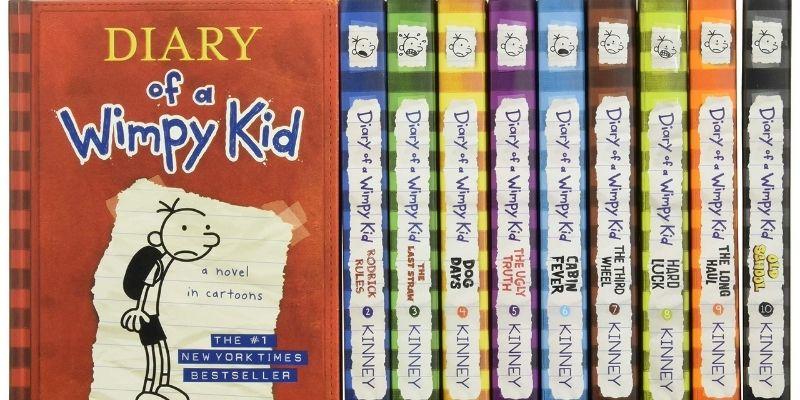 Giới thiệu bộ sách Diary Of A Wimpy Kid
