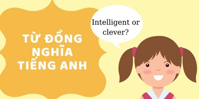 Từ đồng nghĩa tiếng Anh là gì?