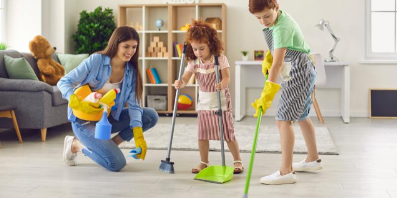 Từ vựng về các công việc chính trong nhà