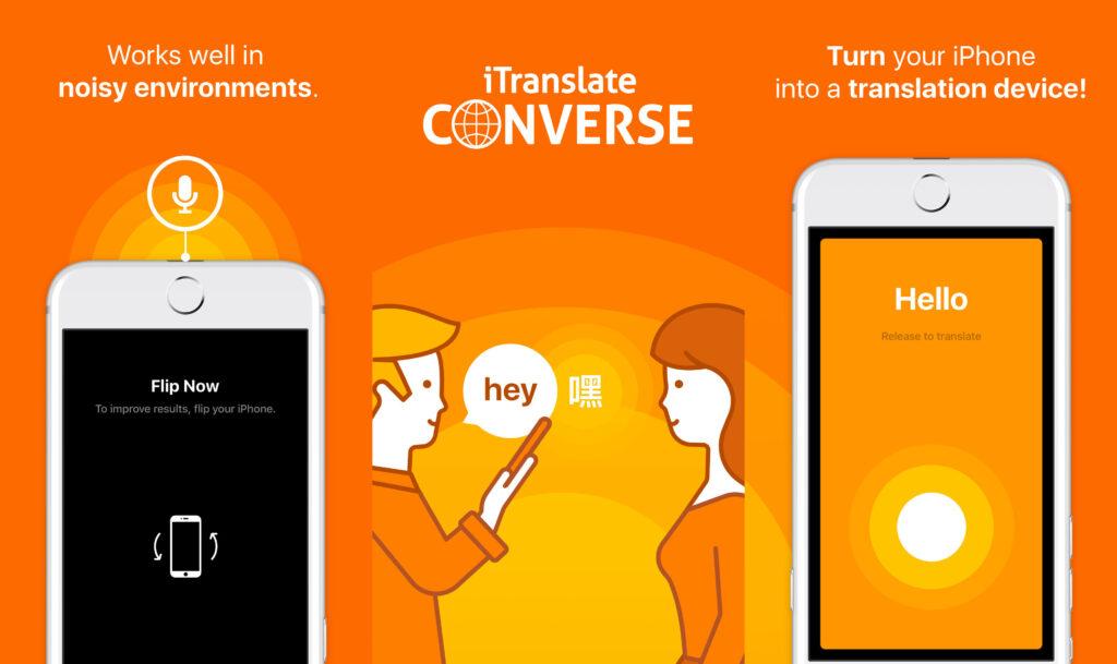 App itranslate Converse