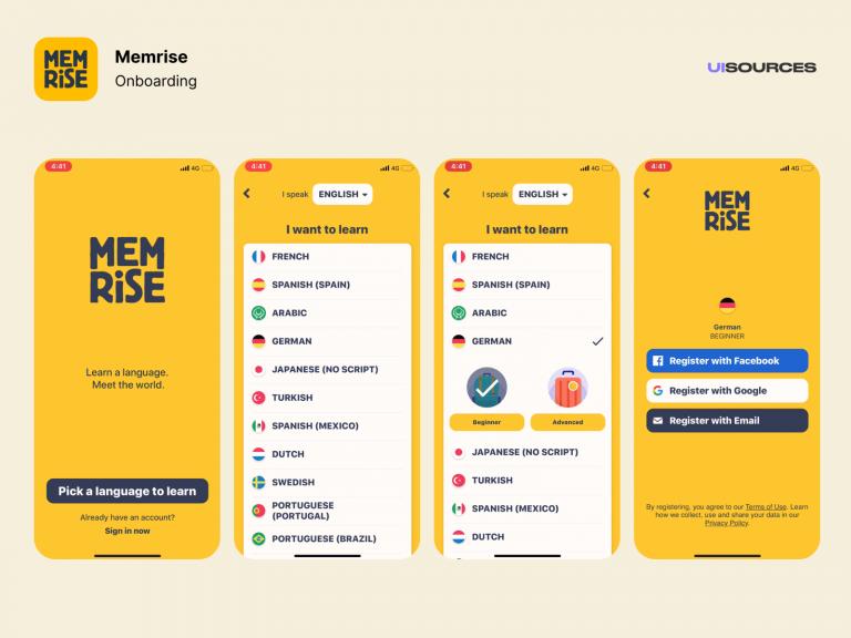 App Memrise
