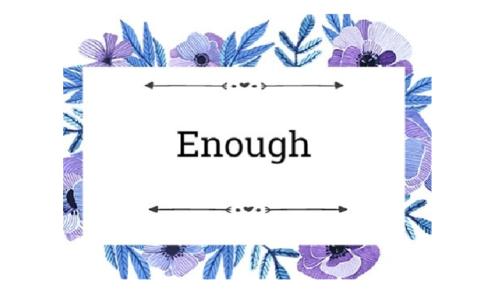 8+ bài tập về cấu trúc Enough - Đáp án có hướng dẫn chi tiết