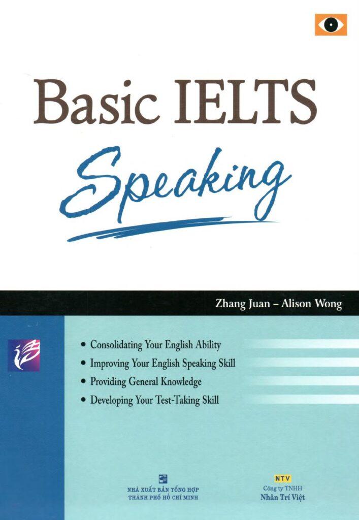 Cuốn sách Basic IELTS Speaking