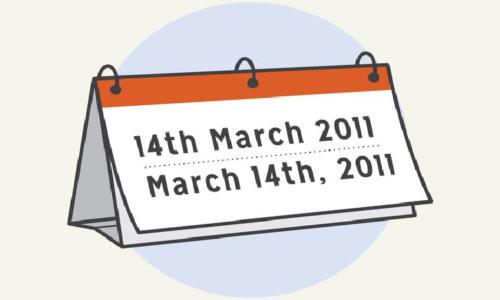 Cách đọc và viết ngày tháng trong tiếng Anh mà bạn cần biết